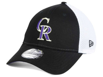 Colorado Rockies New Era MLB Neo Builder 39THIRTY Cap