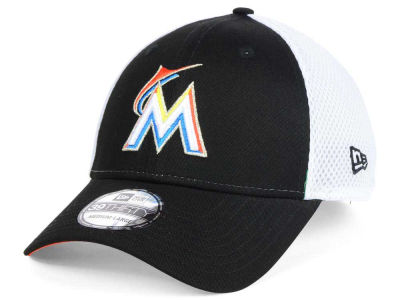 Miami Marlins New Era MLB Neo Builder 39THIRTY Cap
