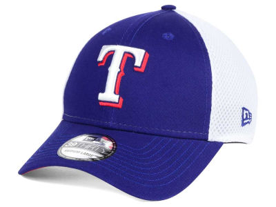 Texas Rangers New Era MLB Neo Builder 39THIRTY Cap
