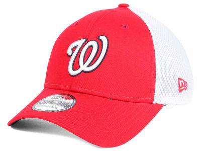 Washington Nationals New Era MLB Neo Builder 39THIRTY Cap