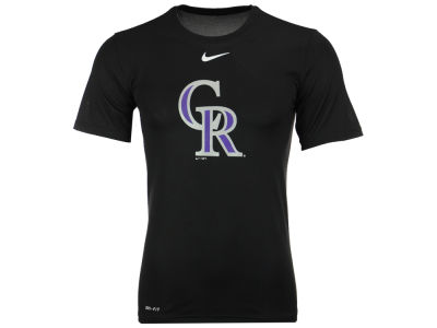 Colorado Rockies Nike MLB Men's BP Logo Legend T-Shirt
