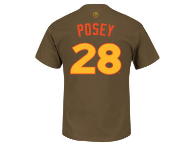 San Francisco Giants Buster Posey MLB Men's All Star Game 2016 Player T-Shirt
