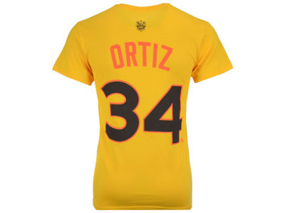 Boston Red Sox David Ortiz MLB Men's All Star Game 2016 Player T-Shirt
