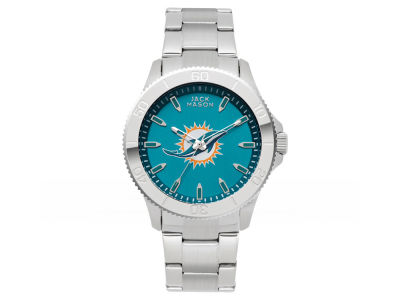 Miami Dolphins Jack Mason Men's Color Sport Bracelet Watch