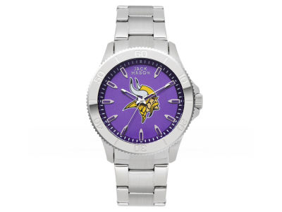 Minnesota Vikings Men's Color Sport Bracelet Watch