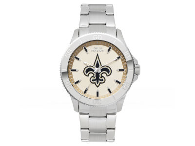 New Orleans Saints Men's Color Sport Bracelet Watch