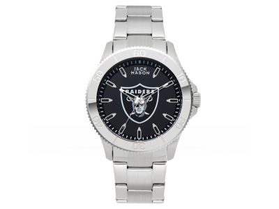 Oakland Raiders Men's Color Sport Bracelet Watch