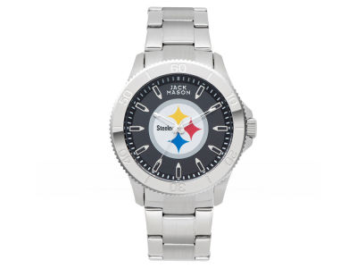 Pittsburgh Steelers Jack Mason Men's Color Sport Bracelet Watch