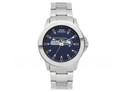 Seattle Seahawks Men's Color Sport Bracelet Watch