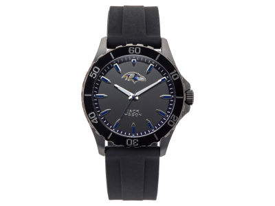 Baltimore Ravens Jack Mason Men's Sport Silicone Strap Watch