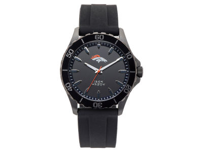 Denver Broncos Men's Sport Silicone Strap Watch
