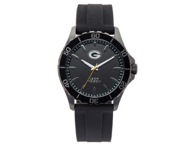 Green Bay Packers Jack Mason Men's Sport Silicone Strap Watch