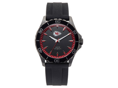 Kansas City Chiefs Jack Mason Men's Sport Silicone Strap Watch