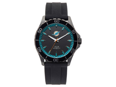 Miami Dolphins Men's Sport Silicone Strap Watch
