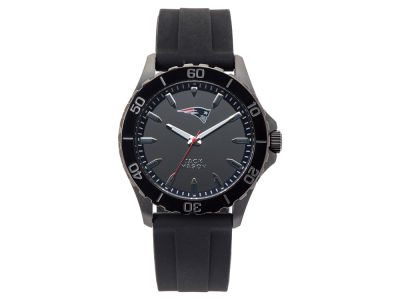 New England Patriots Men's Sport Silicone Strap Watch