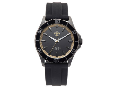 New Orleans Saints Men's Sport Silicone Strap Watch