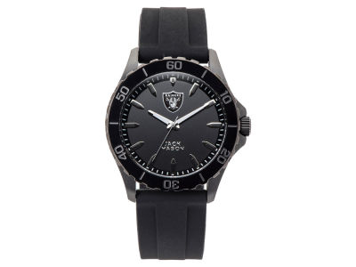 Oakland Raiders Men's Sport Silicone Strap Watch