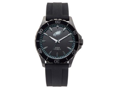 Philadelphia Eagles Men's Sport Silicone Strap Watch