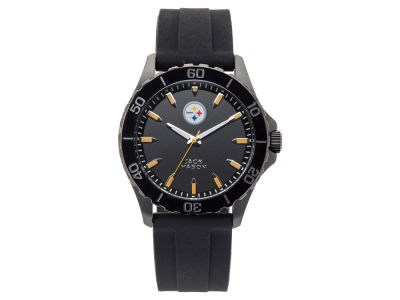 Pittsburgh Steelers Jack Mason Men's Sport Silicone Strap Watch