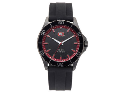 San Francisco 49ers Men's Sport Silicone Strap Watch