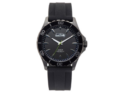 Seattle Seahawks Jack Mason Men's Sport Silicone Strap Watch