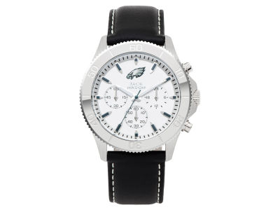 Philadelphia Eagles Jack Mason Men's Chrono Leather Watch