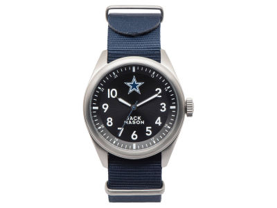 Dallas Cowboys Jack Mason Men's Solid Nato Strap Watch