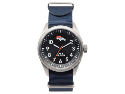 Denver Broncos Men's Solid Nato Strap Watch