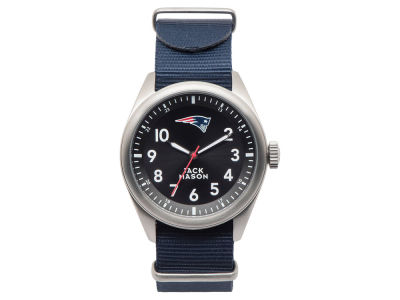 New England Patriots Men's Solid Nato Strap Watch