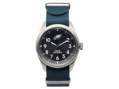 Philadelphia Eagles Men's Solid Nato Strap Watch