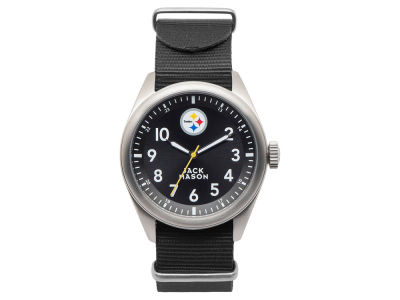 Pittsburgh Steelers Men's Solid Nato Strap Watch