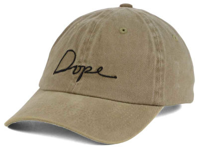 Dope Script Adjustable Hat