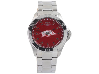 Arkansas Razorbacks Jack Mason Men's Color Sport Bracelet Watch