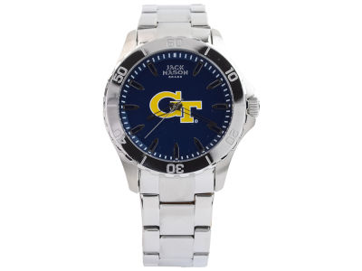 Georgia-Tech Men's Color Sport Bracelet Watch