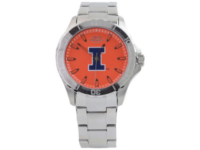 Illinois Fighting Illini Men's Color Sport Bracelet Watch
