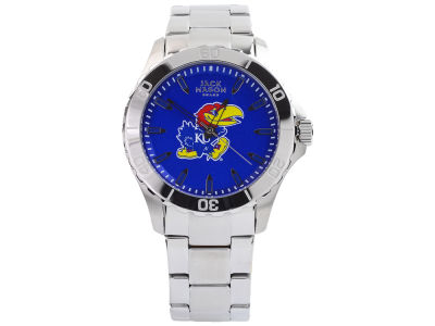 Kansas Jayhawks Men's Color Sport Bracelet Watch