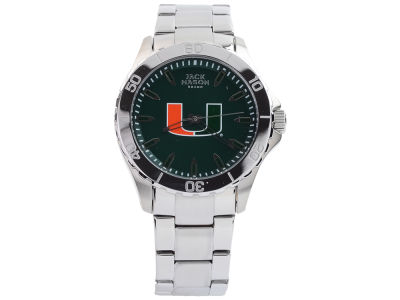 Miami Hurricanes Men's Color Sport Bracelet Watch