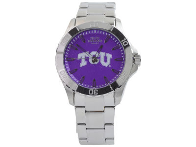 Texas Christian Horned Frogs Jack Mason Men's Color Sport Bracelet Watch