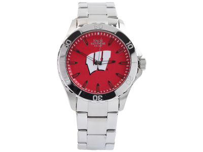 Wisconsin Badgers Men's Color Sport Bracelet Watch