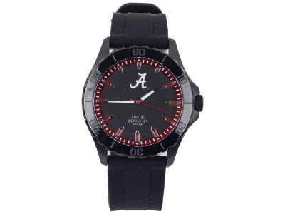 Alabama Crimson Tide Men's Blackout Silicone Strap Watch