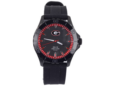 Georgia Bulldogs Men's Blackout Silicone Strap Watch
