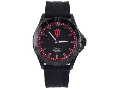 Indiana Hoosiers Jack Mason Men's Blackout Silicone Strap Watch
