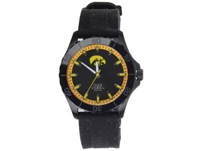 Iowa Hawkeyes Jack Mason Men's Blackout Silicone Strap Watch