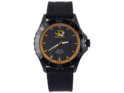 Missouri Tigers Jack Mason Men's Blackout Silicone Strap Watch