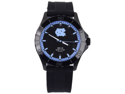 North Carolina Tar Heels Jack Mason Men's Blackout Silicone Strap Watch