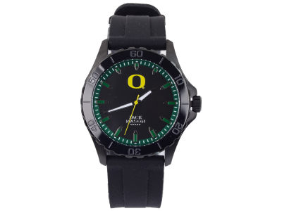 Oregon Ducks Men's Blackout Silicone Strap Watch