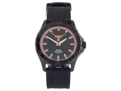 Texas Longhorns Jack Mason Men's Blackout Silicone Strap Watch