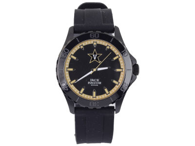 Vanderbilt Commodores Jack Mason Men's Blackout Silicone Strap Watch