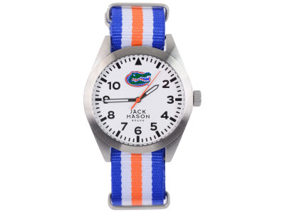 Florida Gators Men's Striped NATO Strap Watch
