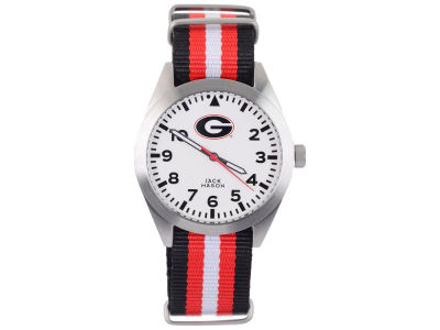 Georgia Bulldogs Men's Striped NATO Strap Watch
